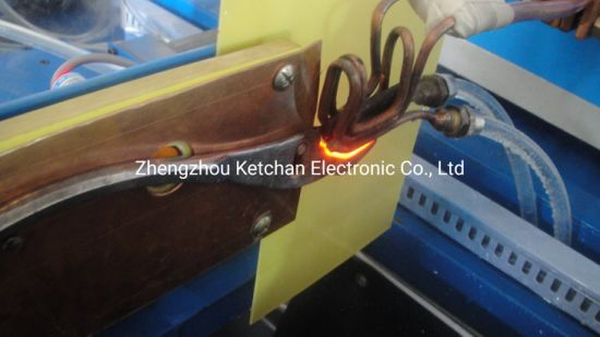 DSP Digital High Frequency Metal Induction Heating Equipment for Wrench Spanner Quenching Hardening