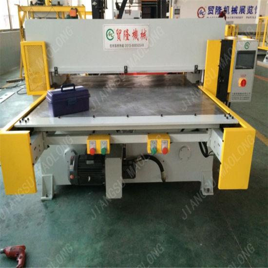 Single Side Feeding Rubber Cutting Machine/Leather Cutting Press