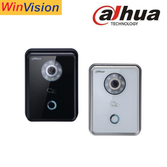 Dahua Vto6210b/Bw Smart Home Doorbell Connect Mobile Phone Doorbell Camera Ring Enabled Video