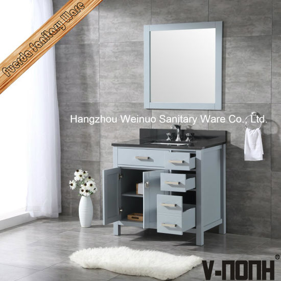 China Country Style Solid Wood Bathroom, Country Style Bathroom Vanity