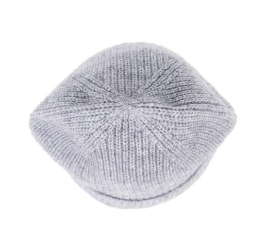 9371f0ded3953 China Gray Plain Merino Wool Knit Slouch Custom Beanie Winter Hat ...