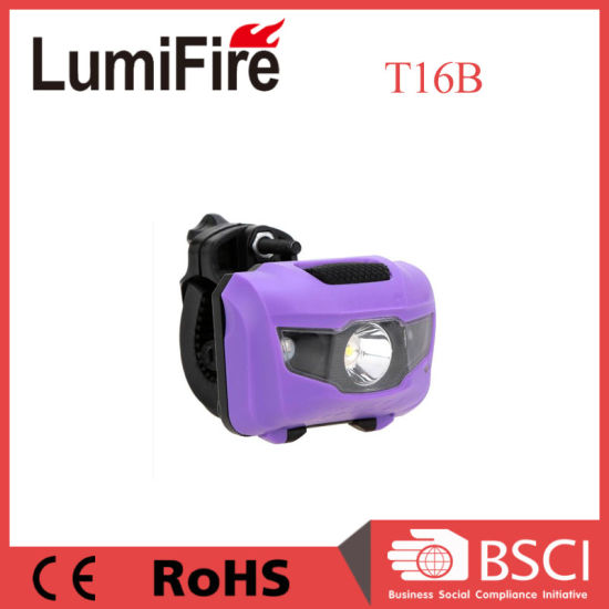 ABS Plastic Front LED Bicycle with Headlamp pictures & photos