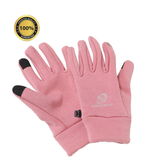 Cycling Gloves Touch Screen Windproof Gloves MTB Bicycle Gel Pad Shockproof Full Finger Mittens Gloves Autumn Winter