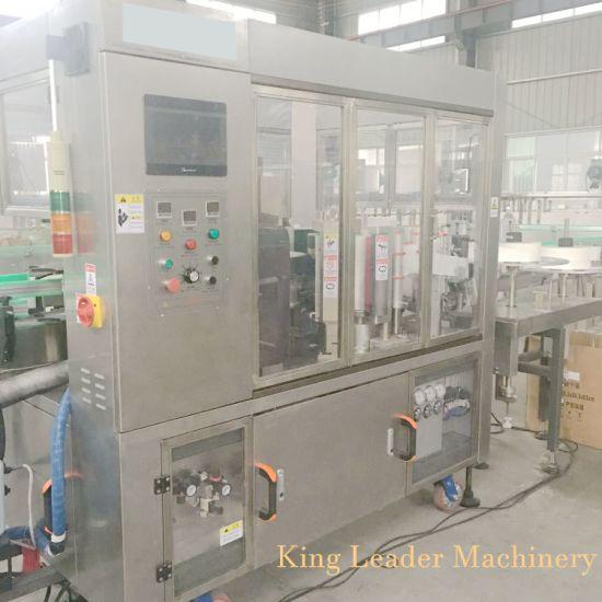 Rotary Type Bottle Hot Glue OPP Labeling Machine