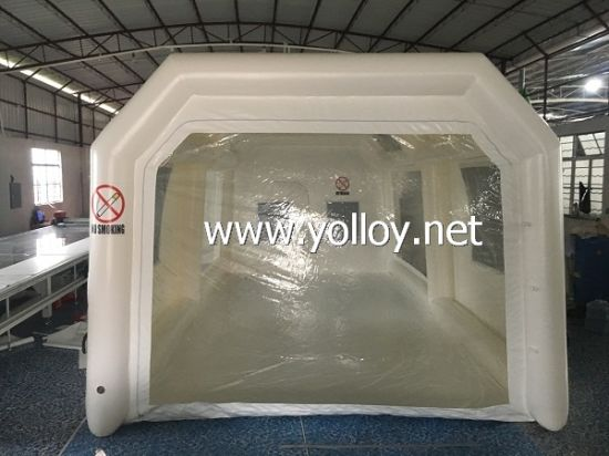 Air Tight Inflatable Paint Booth for Soda Blasting