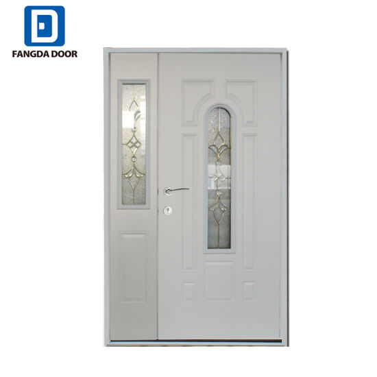 China Double 2 Panel Small Oval Glass Fiberglass Insulated Exterior