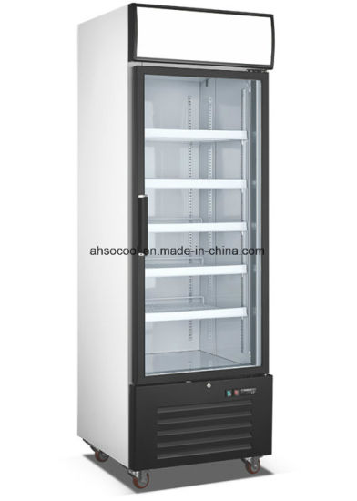 China Glass Door Showcase For Sale Commercial Beverage Cooler