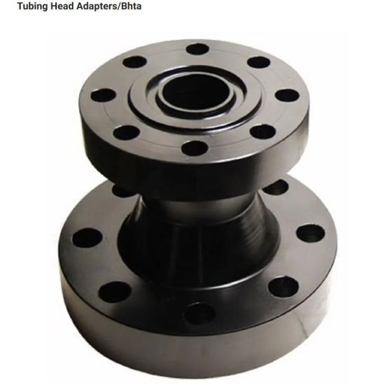 Used for Hydraulic Lift Cylinder Tubing Head Adapter Forging