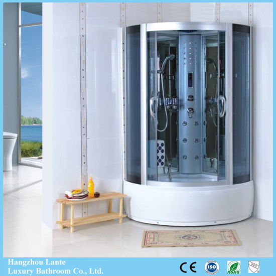 Hot Sliding Glass Massage Shower Cabin with FM Radio (LTS-810) pictures & photos