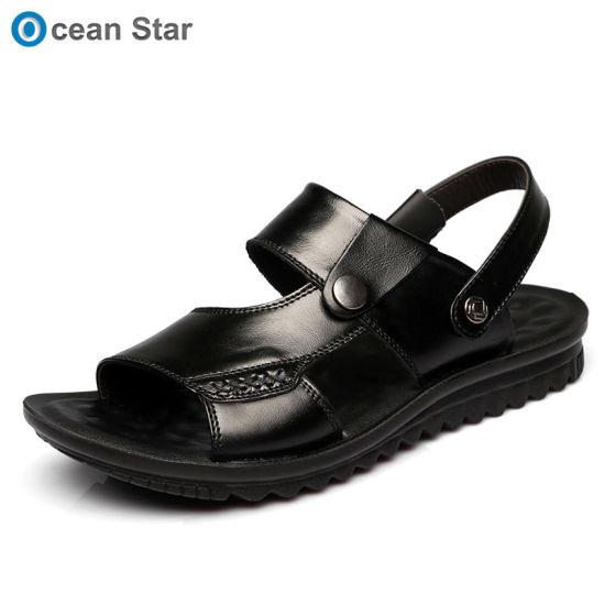 la chine l'été ′ des hommes ′ l'été double usage occasionnel ou cuir véritable sandales, 9794db