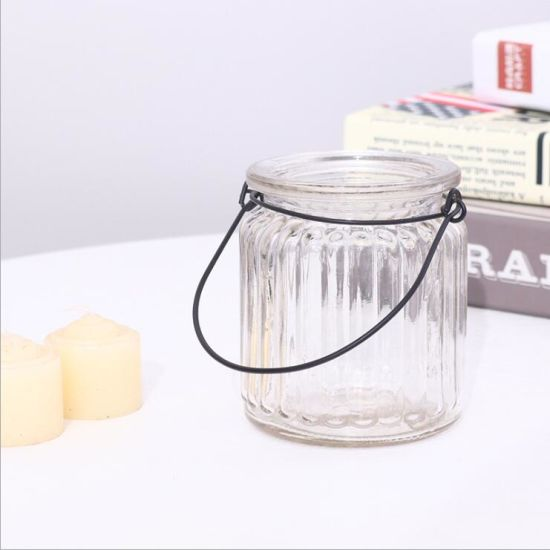 Cheap Clear Hanging Tealight Glass Candle Holder