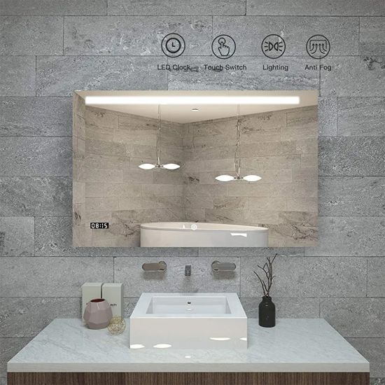 Wholesale Smart Home Bathroom Wall Mounted Lighting Mirror with GS CE EMC