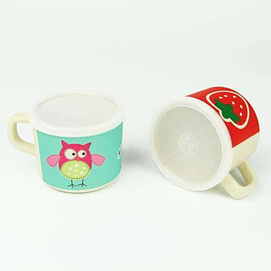 299f7c312e6 China 80ml Eco Friendly Bamboo Fiber Custom Design Milk Cup with ...