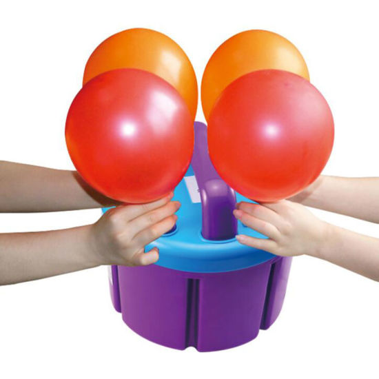 Four Nozzles Electric Balloon Inflator Machine pictures & photos