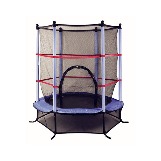 45FT Indoor Kids Trampoline With Safety Net For Jumping