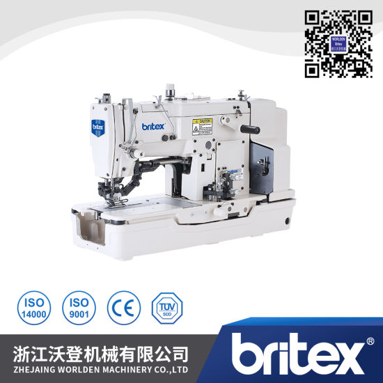 Br-781 High Speed Straight Button Holing Sewing Machine