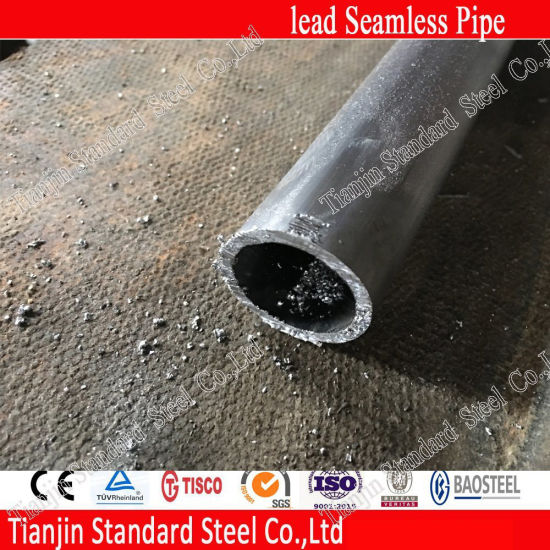 Welded Seamless Lead Pipe for Anodizing Equipment pictures & photos