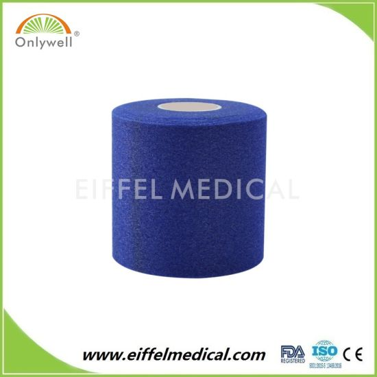 Breathable Sports Medical Pre-Taping Bandage Foam Tape Underwrap