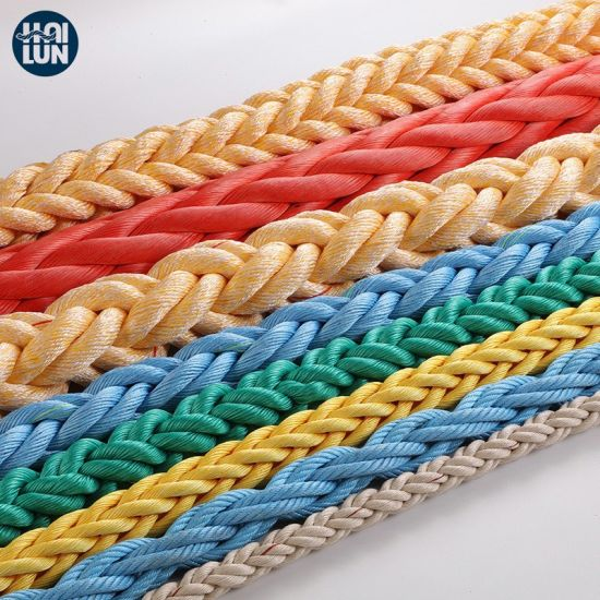 High Strength 3/4 Strand Polypropylene PP/PE Twist Danline Nylon Polyamide Used Ship Rope pictures & photos