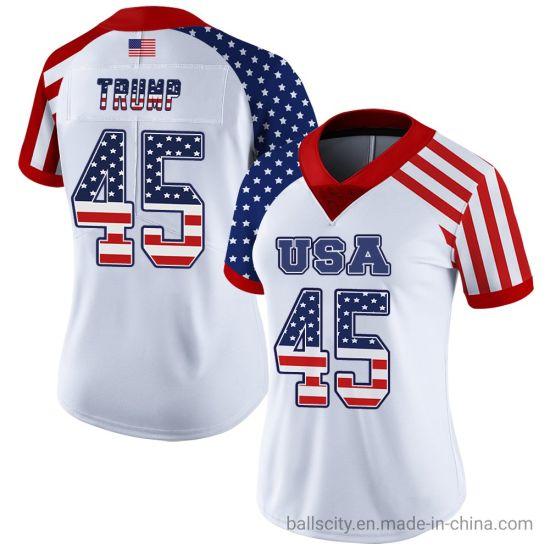 Custom Fashion American Authentic Team Women's Rugby Jersey Wholesale Sportswear