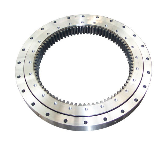 Single/Double/Three Row Internal Gear Slewing Bearing for Engineering Machine, Solar Power and Wind Power