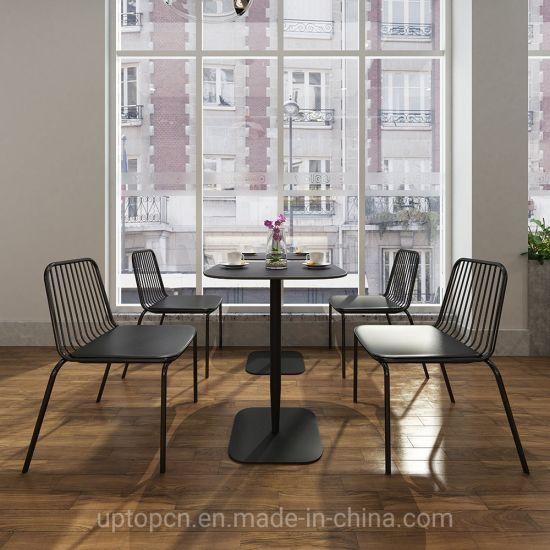 Sp Cs106 Cafe Shop Restaurant Furniture Metal Chair Table For Sale