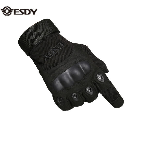 Tactical Hard Knuckle Shooting Gloves for Hunting Motorcycle Hiking
