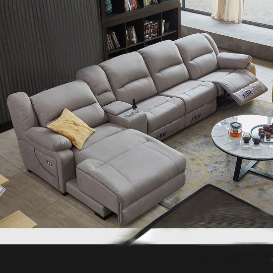 Terrific Italian Genuine Heated Leather Sofa Modern Sectional Sofa Moviehb111 Bralicious Painted Fabric Chair Ideas Braliciousco