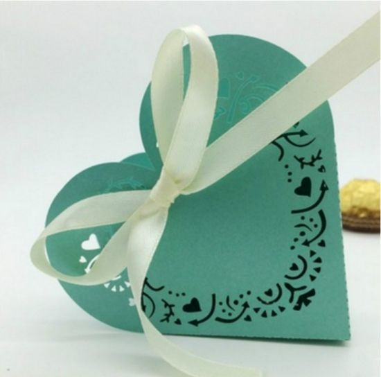 New Style Romantic Handmade Heart Shaped Chocolate Gift Box for Party pictures & photos