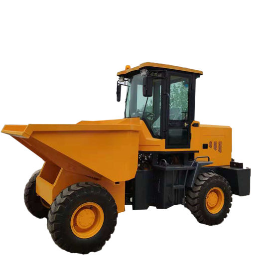 Backhoe Loader Bucket Truck Hydraulic Wheeled Transport Vehicle