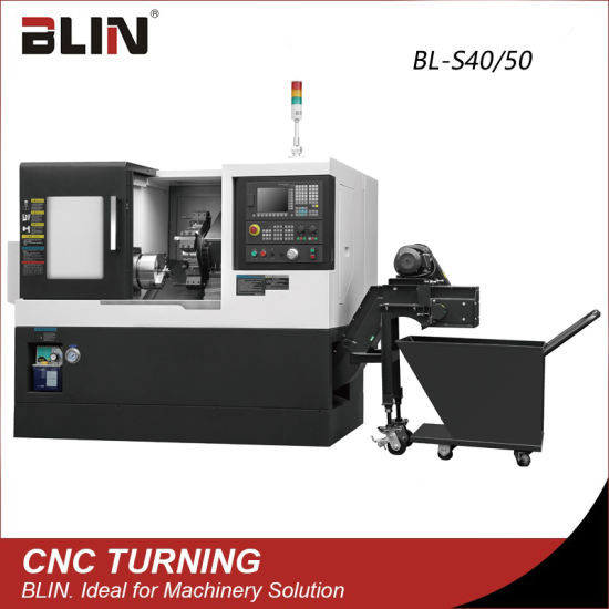 High Precision Slant Bed CNC Lathe Machine with Taiwan Technology (BL-S40/50)