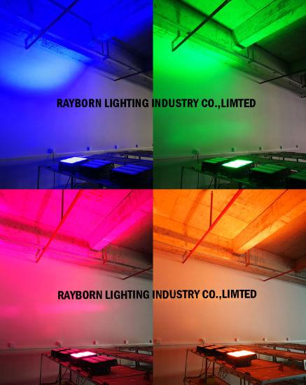 Outdoor/Indoor Waterproof 50W 100W 150W 200W 300W 400W 500W RGB Green/Blue/Red Color LED Flood Light for Aquarium Garden Park Decoration LED RGB Flood Light