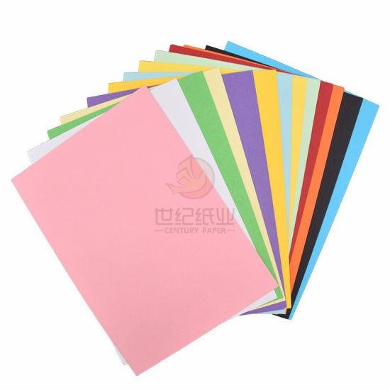 China 50 Sheets Pack 7 Colors A4 Color Copy Cover Paper