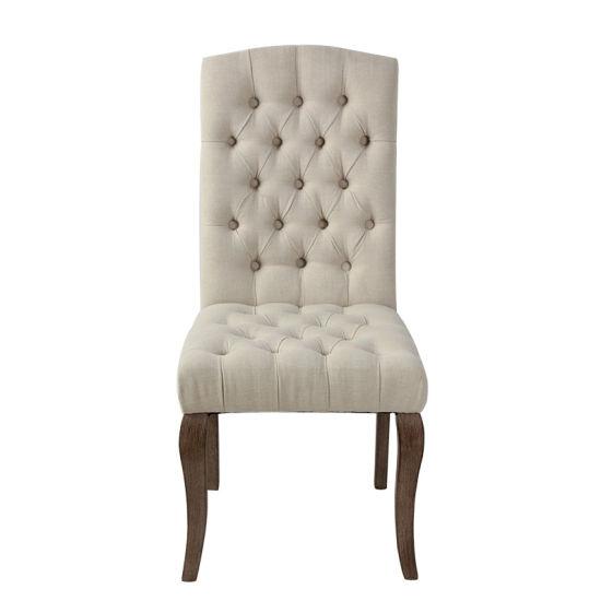 Modern Fabric Restaurant Furniture Luxury Dining Chair