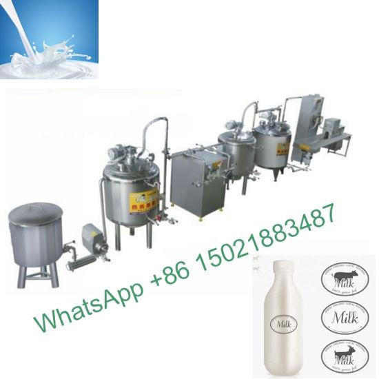 Pasteurization Packaging Machine Milk/Yoghurt Production Line