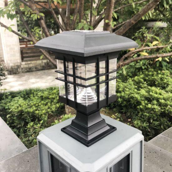 China Premium Solar Led Post Cap Light