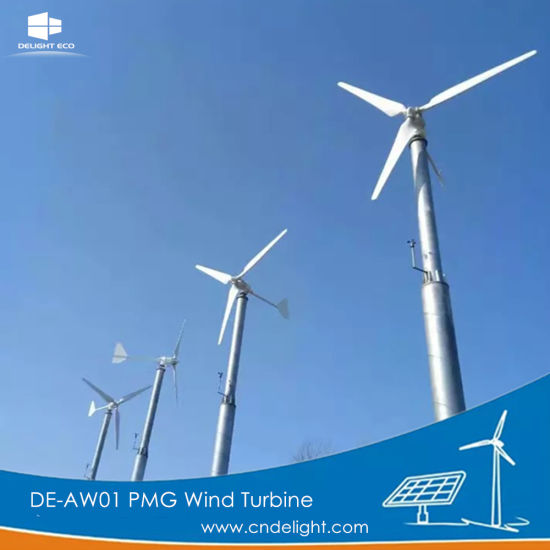 Delight De-Aw01 Pmg Permanent Magnet Wind Power Generator pictures & photos