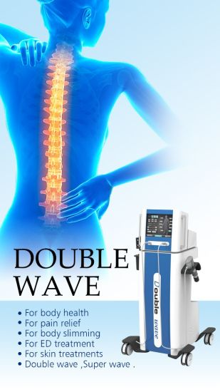 Dual Channel Ondas De Choque Factory Fiphysiotherapy with Cellulite Reduce Machine
