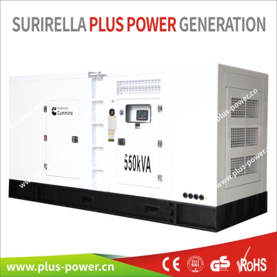 China Open/Power/Portable/Soundproof/Silent Cummins Diesel