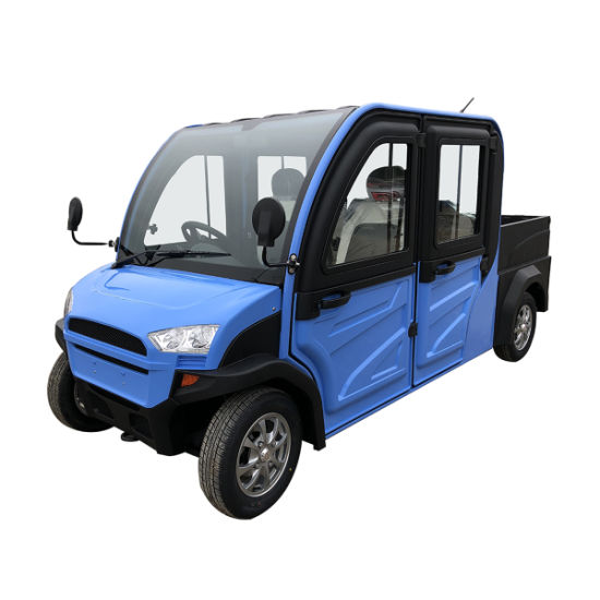 60V4000W Powerful Motor 2019 4 Seats Chinese E Car Mini Small Electric Vehicles