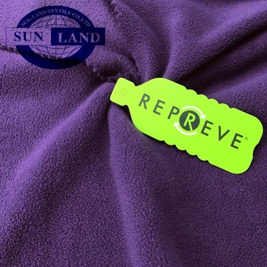 100% Eco-Friendly Recycled Polyester Polar Fleece