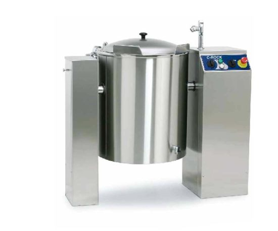 Hotel and Restaurant Equipment Stainless Steel Electric Tilting Boilin Pan