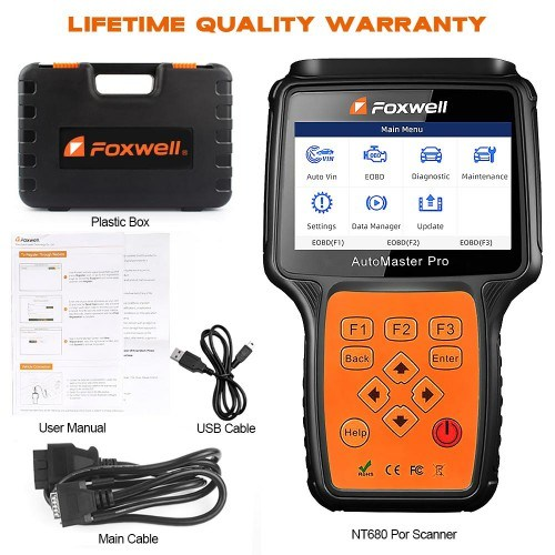 Foxwell Nt680 PRO All System All Makes Scanner with Special Functions