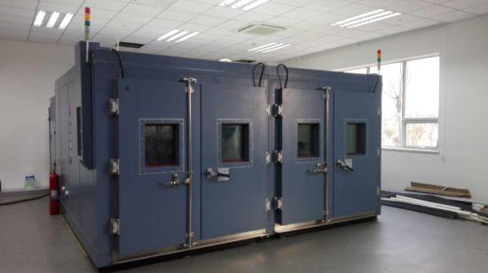 Simulating Temperature Humidity Control Chamber Walk in