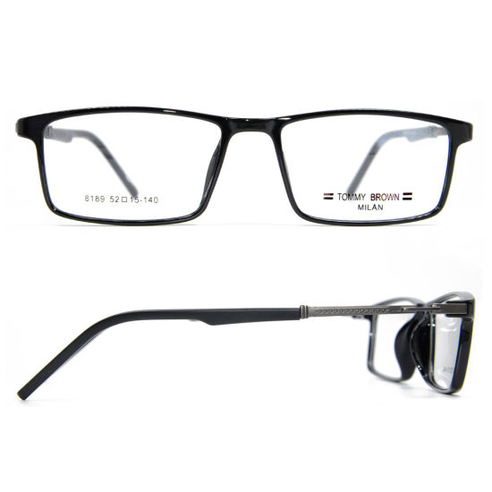 2019 New Hot Sale Eyeglasses Fashion Style Metal Spectacles Tr90 Optical Eyewear Frames Cheap Prices