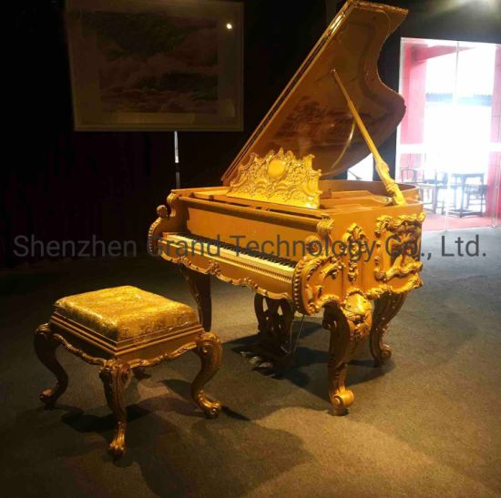 Mic 88 Keys 168 Luxury Home Furniture Custom Bespoke Gold Piano pictures & photos