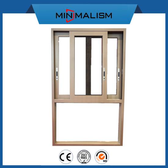 Aluminium Sliding Window Balcony Windows with Clear Double Glazing