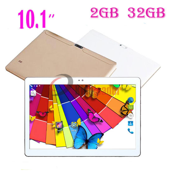 10.1inch HD Screen Quad-Core CPU 3G Calling Phone Android7.0 Tablets PC with 2GB+32GB, Doual SIM Card (K107)