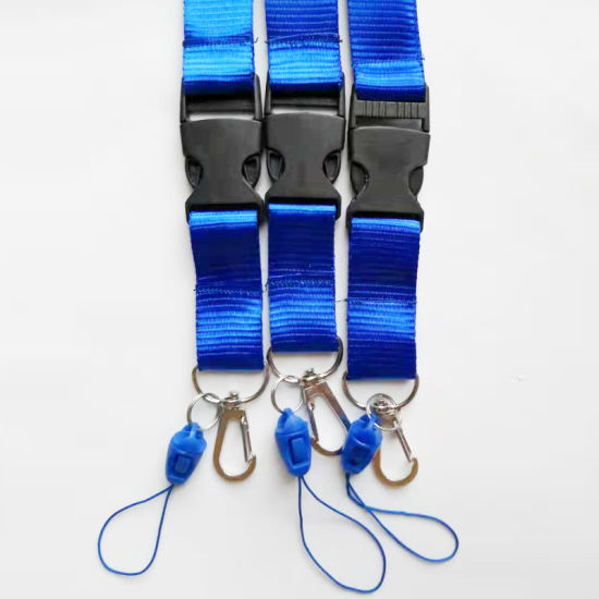Hot Selling 2 Cm ID Card Rope Lanyards for ID Card Badge Holder