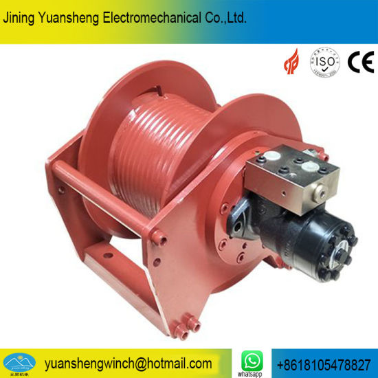 Excavator Winch for Pulling Logs/Wood